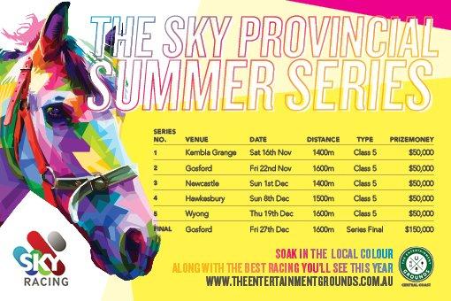 Sky Provincial Summer Series Landscape - Gosford